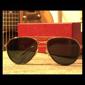 Cartier Aviator Sunglasses